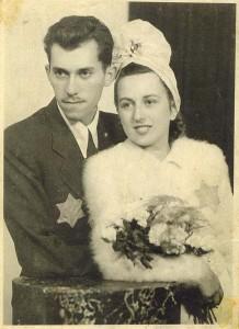 Lebovitz, Eugene (with Kate - wedding) - 1944